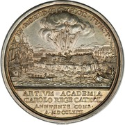 Medal - Capture of the Morro Castle Havana Cuba – reverse