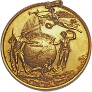 Medal - The Siege of Louisbourg 1758 – obverse