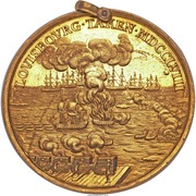 Medal - The Siege of Louisbourg 1758 – reverse