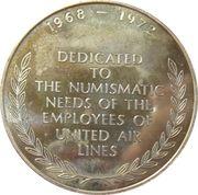 Mainliner Coin Club - San Mateo, California – reverse