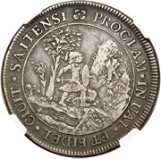 Medal - Charles IV  Proclamation – reverse