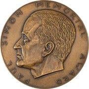 Medal (Numismatic Association of Victoria - Paul Simon Memorial Award) – obverse
