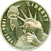 5 oz silver (Ellis Island) – obverse