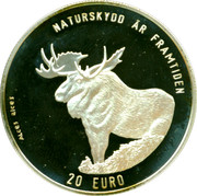 20 Euro (Nature Conservation) – reverse