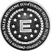 Zweiter Europa Taler (Konrad Adenauer) – obverse