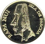 5 Pesos (Forceps fish) – obverse
