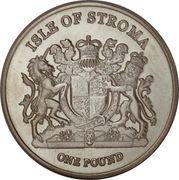 1 Pound (Norvegien) – obverse