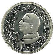1 Dollar (Pope Leo III) – reverse