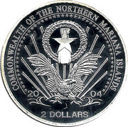 2 Dollars (President Eisenhower) – obverse