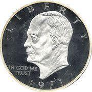 2 Dollars (President Eisenhower) – reverse