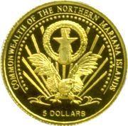 5 Dollars (Euro-motive of Greece) – obverse