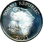 10 Dollars (The African Monkey - The Three Monkeys) – obverse