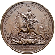 Medal - Peter I (Battle of Poltava) – obverse