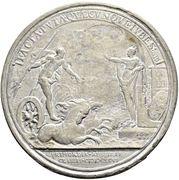 Medal - Peter I (Establishment of the Russian Fleet; Copy) – reverse