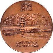 Amsterdam 700 – obverse