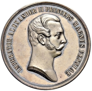 Medal - Alexander II (700th Anniversary of Introduction of Christianity to Finland) – obverse