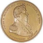 Medal - War of 1812 - Master Commander Jesse D. Elliott – obverse