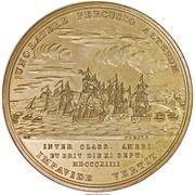 Medal - War of 1812 - Master Commander Jesse D. Elliott – reverse