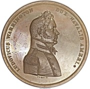 Medal - War of 1812 - Captain Lewis Warrington – obverse