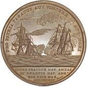 Medal - War of 1812 - Captain Lewis Warrington – reverse