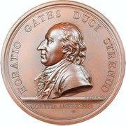 Military Medal - General Horatio Gates at Saratoga – obverse