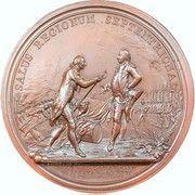 Military Medal - General Horatio Gates at Saratoga – reverse