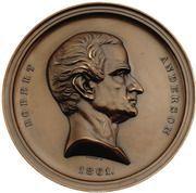 Medal - Civil War - Robert Anderson – obverse
