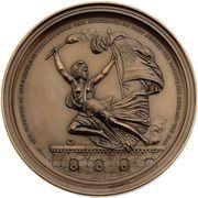 Medal - Civil War - Robert Anderson – reverse