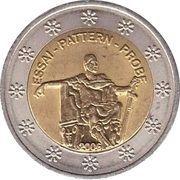 2 Xeros (Serbia Euro Fantasy Token) – obverse