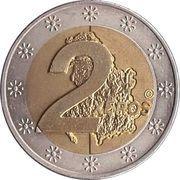 2 Xeros (Serbia Euro Fantasy Token) – reverse