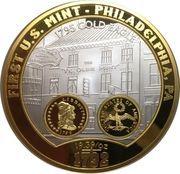 Medal - First U.S. Mint – reverse