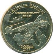 5 Dollars (Messerschmitt BF.109) – reverse
