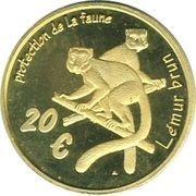 20 Euro (Mayotte Euro Fantasy Token) – reverse