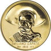 Medal - Emiliano Zapata (Land & Liberty) – obverse