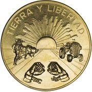 Medal - Emiliano Zapata (Land & Liberty) – reverse