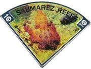 10 Dollars - Elizabeth II (Suamarez Reefs) – reverse