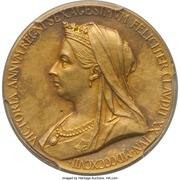 Medal - Victoria (Diamond Jubliee) – obverse