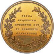 Medal - Duke of Newcastle (Eton College Pelham Prize) – reverse