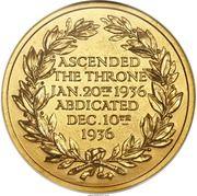 Medal - Edward VIII (Abdication) – reverse
