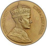 Medal - Edward VIII (Coronation; Matte Specimen) – obverse