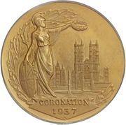 Medal - Edward VIII (Coronation; Matte Specimen) – reverse
