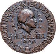 Dollar - U.S. Sesquicentennial Exposition in Philadelphia – obverse