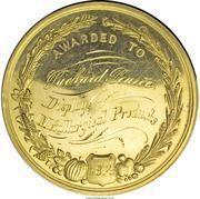 Award Medal - Colorado Industrial Association – reverse