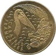 1 Euro (St. Martin Euro Fantasy Token) – reverse