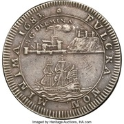 Medal - Dutch West India Company (Chamber of Groningen and Ommeland) – reverse