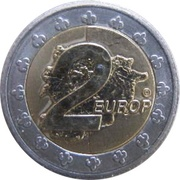 2 Europ (Andorra Euro Fantasy Token) – reverse