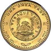 Onza - Santiago Mint – reverse