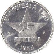 25 Steloj – reverse