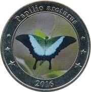 1 Dollar (Papilio arcturus) – reverse