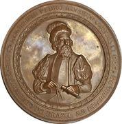 Medal - Discovery of Tocantins by Daniel de la Touche – obverse